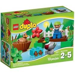lego duplo 10581 metsä ankat lelu hahmo asettaa uusia kohtaan