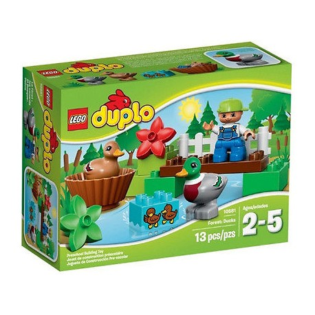 lego duplo 10581 forest ducks toy figure set new in box