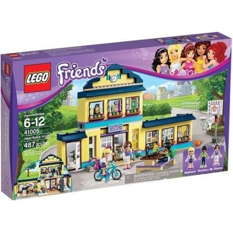 LEGO Friends 41005 Heartlake High 41005 Set New In Box Sealed ...
