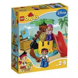 レゴデュプロ10604ジェイク、決して土地の海賊宝25pcsは、ボックスに新しい設定します