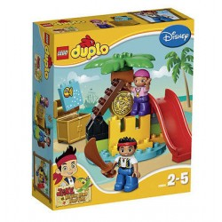 LEGO Duplo 10604 Jake i Piraci nigdy lądowe 25szt skarb ustawić nowy w pudełku