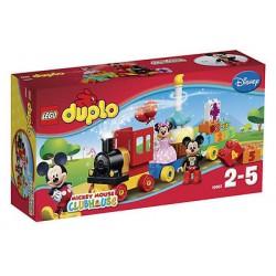 LEGO DUPLO 10597 disney mickey og minnie fødselsdag parade 24pcs sat nye i rubrik