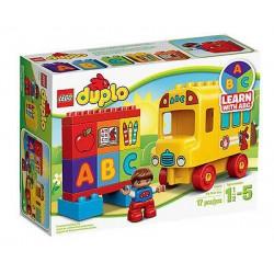 lego duplo 10603 Duplo mans pirmais autobusu 17pcs noteikts jauns kastē