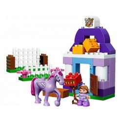Lego Duplo 10594 Sofia den första kungliga stabila 38pcs som nytt i rutan