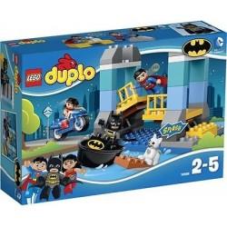 lego duplo 10599 duplo superhjältar batman äventyr som utspelar sig nytt i rutan