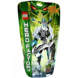 密封されたボックスに新しい設定レゴヒーローファクトリー44010ストーマー脳攻撃