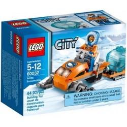 lego city 60032 arktinen moottorikelkka rakennuksessa uutta kohtaan suljettu