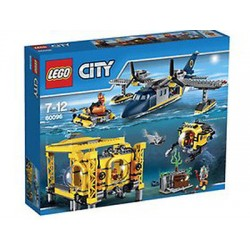lego city 60.096 dybe hav operation basissættet boksen forseglet