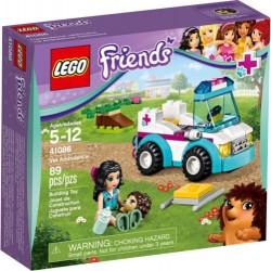 LEGO Barátok 41086 Vet Ambulance 41086 New In Box Sealed