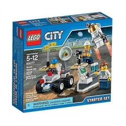 lego city 60077 city space port starter set set in box sealed