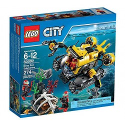 lego city 60092 city explorers deep sea submarine set box sealed