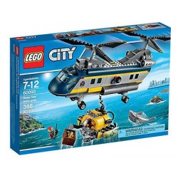 lego city 60093 city explorers deep sea helicopter set box sealed