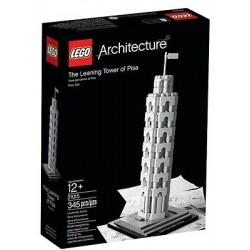 LEGO Architecture 21015 a pisai ferde torony új zárt