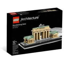 新しい密封されたレゴアーキテクチャ21011ブランデンブルク門
