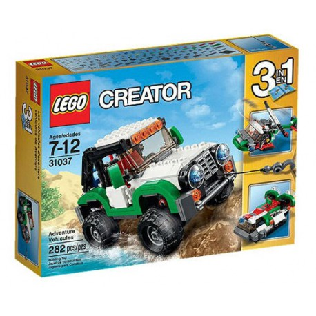 Lego Creator 31037 Creator Adventure Vehicles Set 282 Pcs New In Box