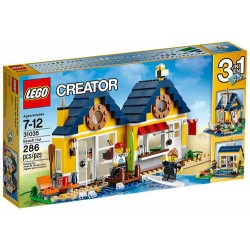 lego creator 31035 beach hut set 286 pcs new in box sealed