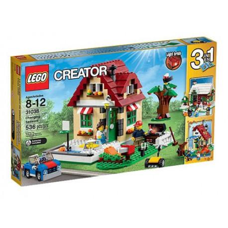 lego creator 31038 creator changing seasons set 536 pcs new in box sealed