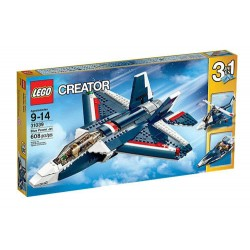 lego creator 31039 creator power jet blue set 608 pcs new in box sealed