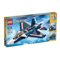 lego creator 31.039 tvorca moc jet blue set 608 ks nové v krabici zapečatenej