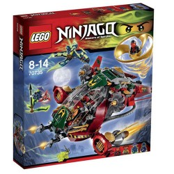 lego ninjago 70735 ronin rex set new in box sealed