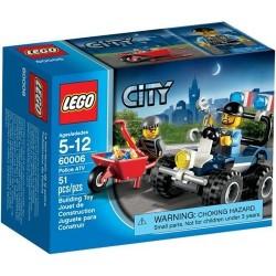 LEGO City 60006 Miasto Police ATV