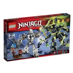 lego Ninjago 70737 strid på Saleucami satt nytt i rutan förseglade