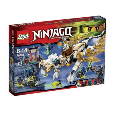 lego ninjago 70734 master wu dragon set new in box sealed