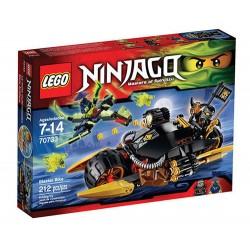 lego Ninjago 70733 blaster cykel sätta nya i rutan förseglade