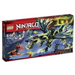 Lego Ninjago 70736 атака на змея на Моро определен нов в кутия запечатан