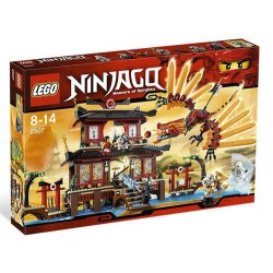 lego ninjago 2507 fire temple set new in box sealed