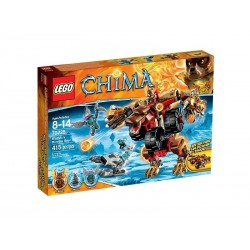 lego legends of chima bladvic's 70225 rumble bear building set new in box