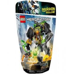 lego hero fabrikken 44019 rocka stealth maskin satt nytt i boksen forseglet