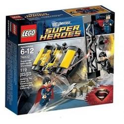 Супер Герои до 76002 Супермен метрополис Showdown поставят нови в кутия, запечатани