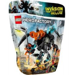 LEGO Hero Factory 44021 Teiler Biest vs Furno gesetzt im Kasten neu versiegelten