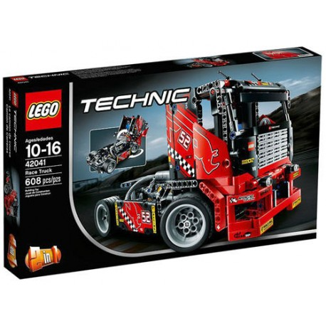 lego technic 42041 racing truck 2 in 1 set new in box sealed