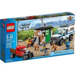LEGO City 60048 Policja Pies Jednostka