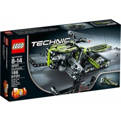 lego technic 42021 snowmobile 186pcs set new in box sealed
