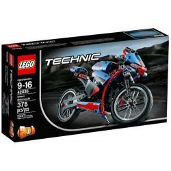 lego teknik 42.036 gade motorcykel sæt nye i rubrik forseglet