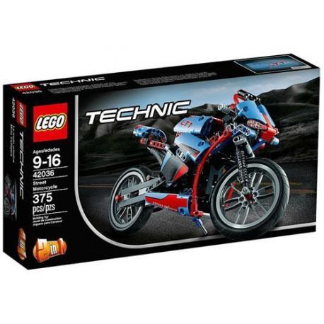 lego technic 42036 street motorcycle set new in box sealed