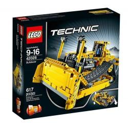 LEGO Technic 42028 Bulldozer gesetzt im Kasten neu abgedichtet