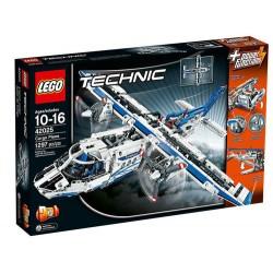 LEGO Technic 42025 teherszállító repülőgép épületben új rovatban zárt