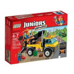 Lego juniori 10683 Práce na ceste kamión 132pcs nastaviť nový zapečatené v kolónke