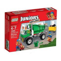 lego Junioren einfach zu 10.680 Müllwagen im Kasten neu versiegelt bauen