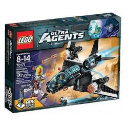 LEGO ultra aģenti 70171 ultraskaņas kāršu atklāšana noteikts jauns kastē aizzīmogotā