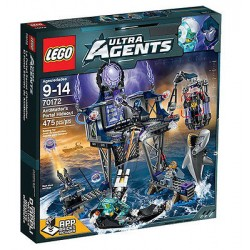 lego ultra agents 70172 antimatter's portal hideout set new in box sealed