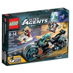 lego ultra agents 70167 invizable gold getaway set new in box sealed