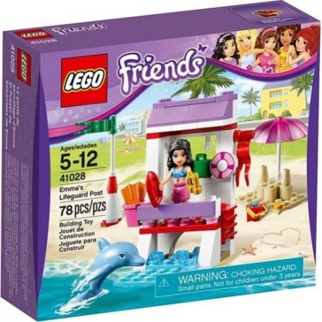 LEGO Friends 41028 mma's Lifeguard Post New In Box Sealed
