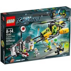 Lego ultra agenter 70163 toxikita er giftig meltdown satt nytt i boksen forseglet