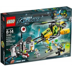 lego ultra agents 70163 toxikita's toxic meltdown set new in box sealed