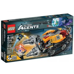 lego ultra aģenti 70168 drillex dimanta darbu kas jauns kastē aizzīmogotā